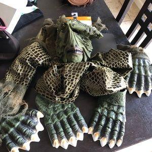 Swamp monster costume